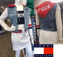 Tommy Hilfiger Short Casual Style Street Style Plain Jackets