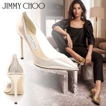 Jimmy Choo Pin Heels Party Style PVC Clothing Pointed Toe Pumps & Mules