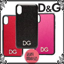 Dolce & Gabbana Leather Smart Phone Cases