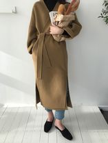 Plain Long Oversized Coats