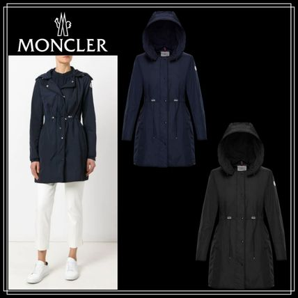 bedd960ec MONCLER ANTHEMIS 2019 SS Casual Style Plain Long Coats by LUstyle13 ...