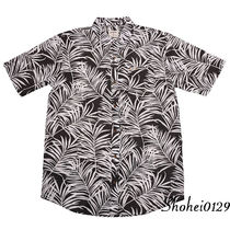 Ron Herman Stripes Tropical Patterns Unisex Cotton Short Sleeves