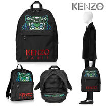 KENZO Canvas Backpacks