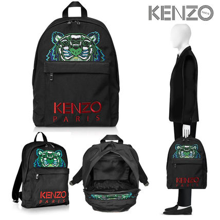 Casual Style Canvas Backpacks