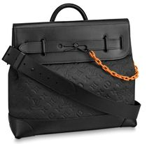 Louis Vuitton Monogram Street Style A4 2WAY Chain Leather