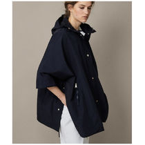 Massimo Dutti Technical Navy Cape