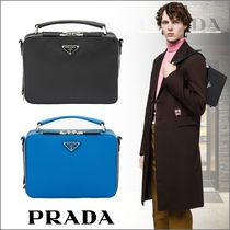 PRADA Saffiano Plain Messenger & Shoulder Bags