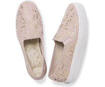 Keds Flower Patterns Round Toe Casual Style Collaboration