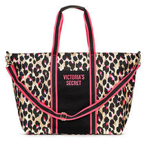 Victoria's secret Leopard Patterns Casual Style Canvas Street Style A4 2WAY