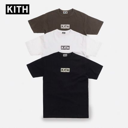 KITH NYC More T-Shirts Unisex Street Style Cotton Short Sleeves T-Shirts