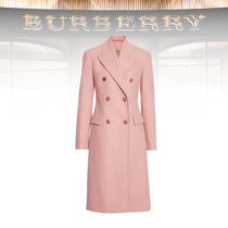 Burberry New Season  BURBERRY Double-breasted Wool Tailored Coat