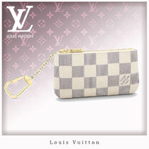 Louis Vuitton DAMIER AZUR Unisex Coin Purses