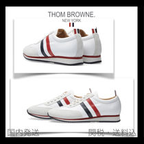THOM BROWNE Blended Fabrics Street Style Sneakers
