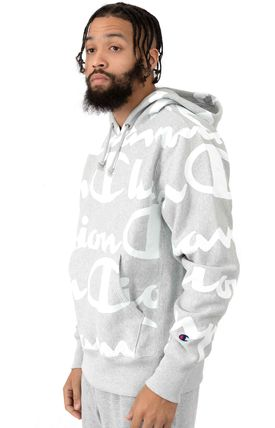 CHAMPION Hoodies Sweat Street Style Long Sleeves Hoodies 2