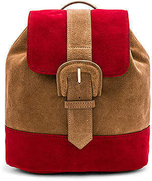 Casual Style Suede Plain Backpacks