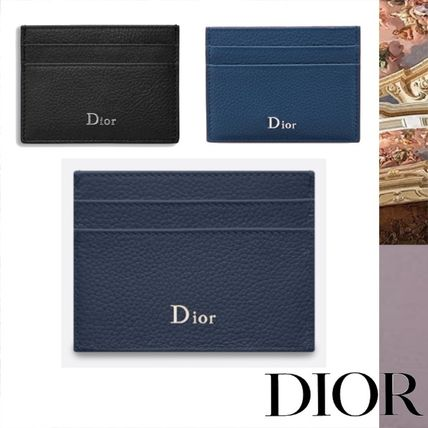 buy online a9188 cc464 DIOR HOMME Leather Card Holders