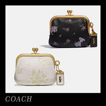 Coach Flower Patterns Collaboration Leather