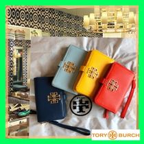 Tory Burch Leather Smart Phone Cases