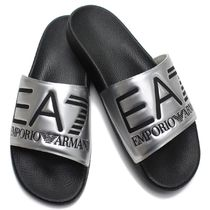 EMPORIO ARMANI Bi-color Shower Shoes Shower Sandals