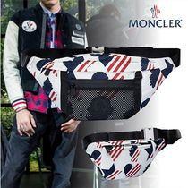 MONCLER Heart Star Unisex Street Style 3WAY Hip Packs