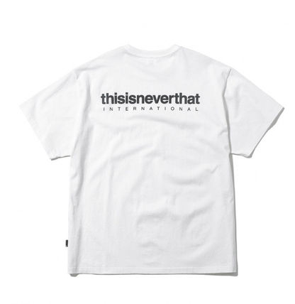 thisisneverthat More T-Shirts Street Style Cotton Short Sleeves T-Shirts 4