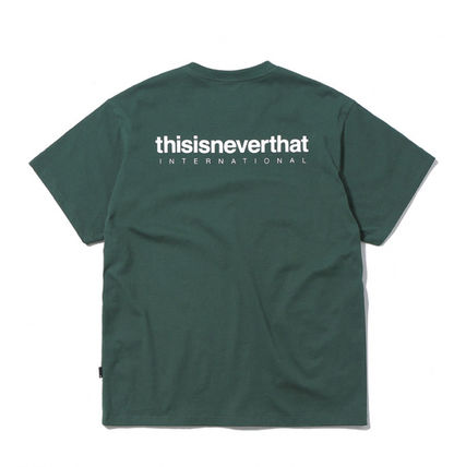 thisisneverthat More T-Shirts Street Style Cotton Short Sleeves T-Shirts 14