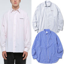 thisisneverthat Street Style Long Sleeves Cotton Shirts