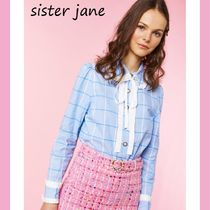 Sister Jane Other Check Patterns Casual Style Long Sleeves Medium
