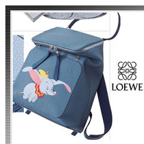 LOEWE Collaboration Leather Backpacks