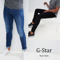 G-Star Street Style Plain Cotton Jeans & Denim