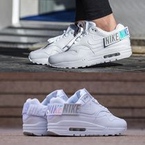 Nike AIR MAX 1 Casual Style Unisex Faux Fur Street Style Low-Top Sneakers