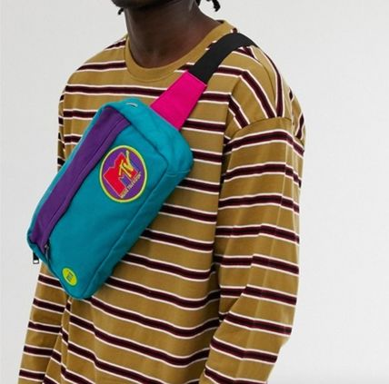 Unisex Street Style Collaboration Bags