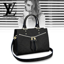 Louis Vuitton MONOGRAM Monogram 2WAY Leather Elegant Style Shoulder Bags