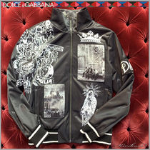 Dolce & Gabbana Short Bi-color Varsity Jackets