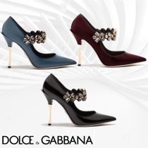 Dolce & Gabbana Elegant Style Pointed Toe Pumps & Mules