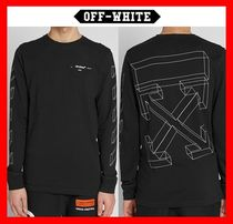 Off-White Street Style Long Sleeves Long Sleeve T-Shirts