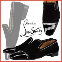 Christian Louboutin Loafers Leather With Jewels Loafers & Slip-ons