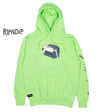 Pullovers Sweat Street Style Long Sleeves Logo Skater Style