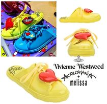 Vivienne Westwood Casual Style Collaboration PVC Clothing Sandals Sandal