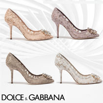 Dolce & Gabbana Party Style Pointed Toe Pumps & Mules