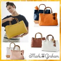 marc AND graham Plain Leather Handbags