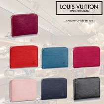 Louis Vuitton EPI Plain Leather Coin Cases
