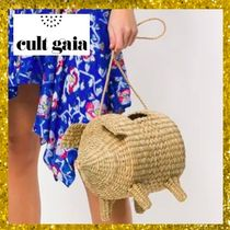 CULT GAIA Casual Style Street Style Plain Shoulder Bags