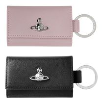 Vivienne Westwood Plain Leather Keychains & Bag Charms