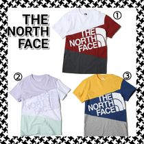 THE NORTH FACE Crew Neck Plain Short Sleeves Crew Neck T-Shirts
