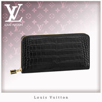 Louis Vuitton ZIPPY WALLET Crocodile Other Animal Patterns Long Wallets