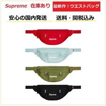 Supreme Unisex Nylon Street Style 2WAY Plain Hip Packs