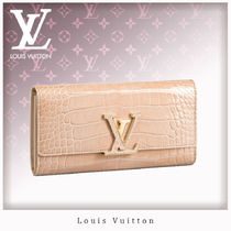 Louis Vuitton CAPUCINES Crocodile Other Animal Patterns Long Wallets