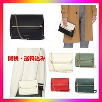 STRATHBERRY Leather Elegant Style Clutches