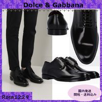 Dolce & Gabbana Plain Toe Monk Loafers & Slip-ons